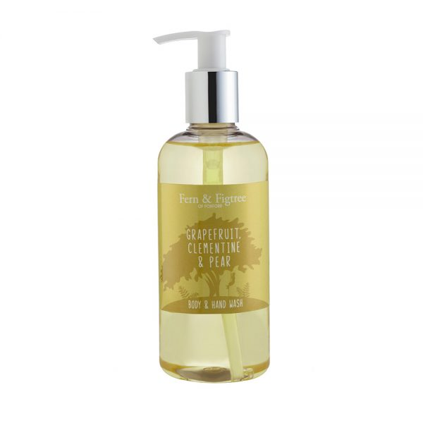 Grapefruit, Clementine & Pear Body and Hand Wash