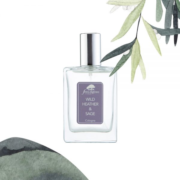 Wild Heather and Sage Cologne